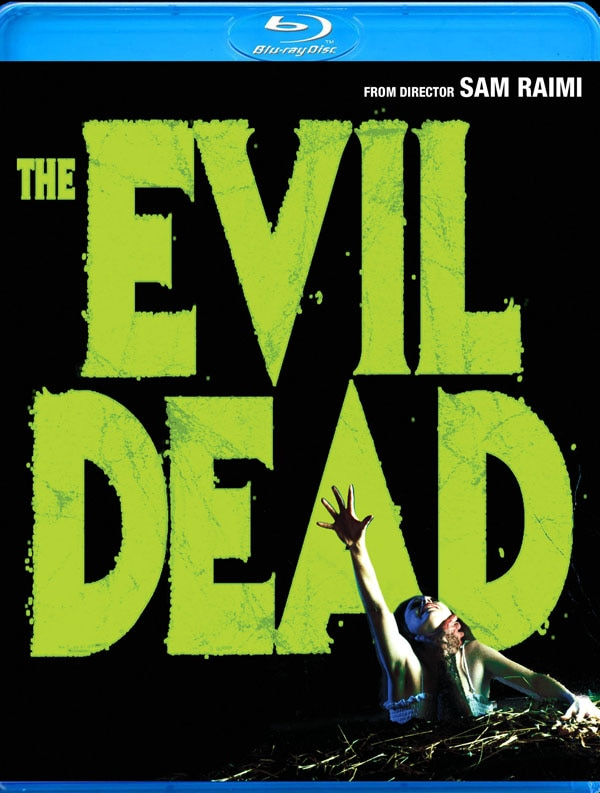 Official Blu-ray Detals and Artwork: The Evil Dead