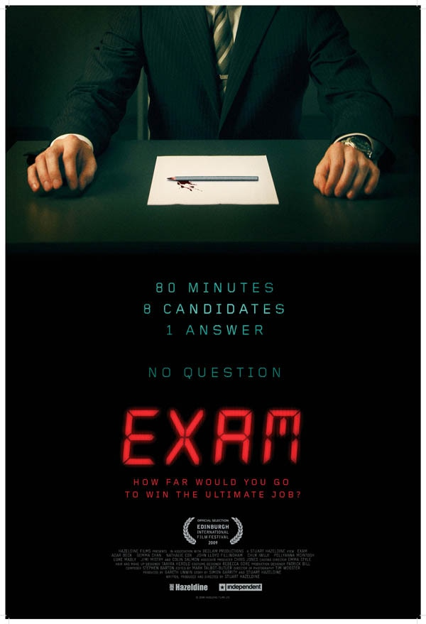Official One-Sheet and Trailer - IFC's Exam