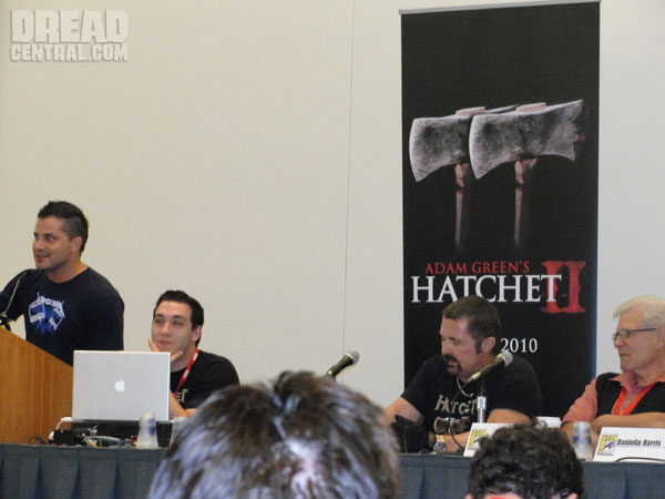 San Diego Comic-Con 2010: Hatchet II Footage Report! What Did You Miss? A LOT! Details Inside!