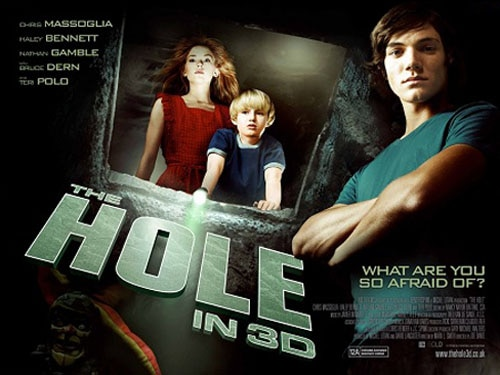 Quad One-Sheet Debut: Joe Dante's The Hole 3D