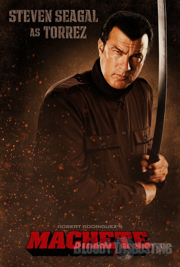 More Machete Madness! Two More Character One-Sheets