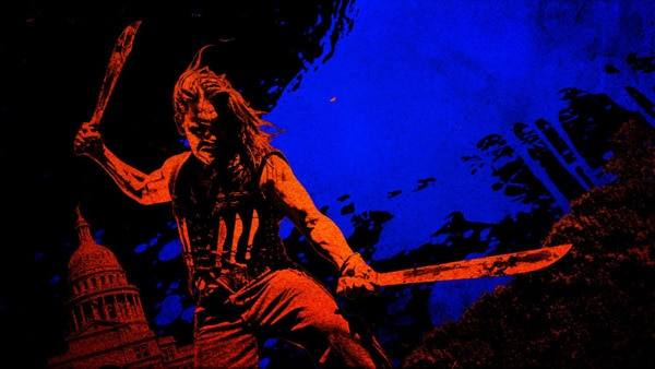 Badass Machete Artwork and Lobby Card Gallery