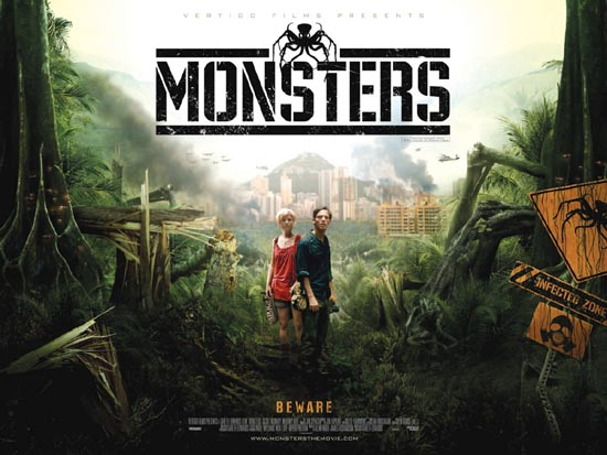 Check Out This Monsters Quad Poster