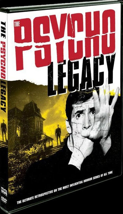 DVD Art: Robert Galluzzo's The Psycho Legacy