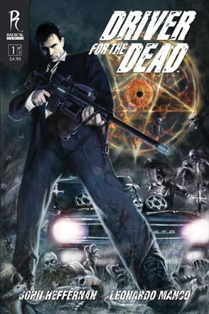 New Radical Genre Comics Released This Week: Driver for the Dead