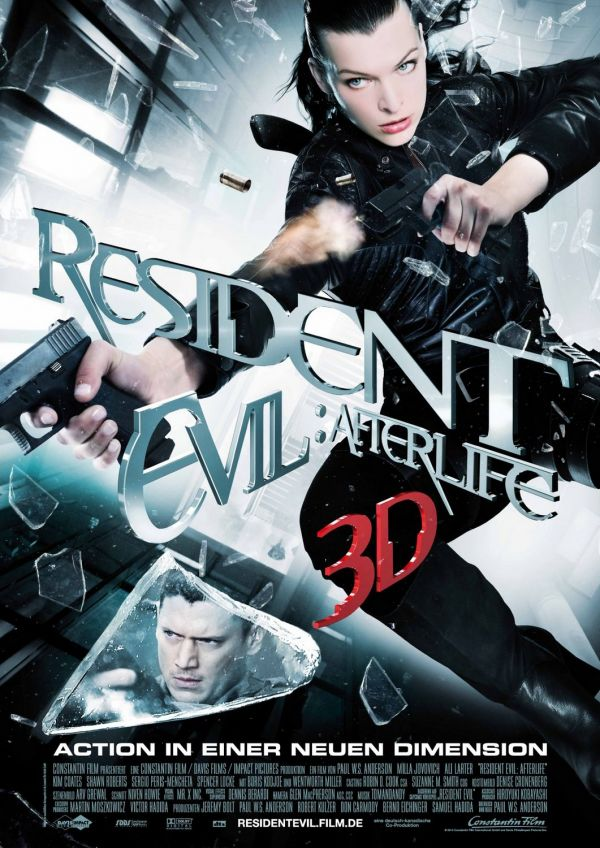 New Resident Evil: Afterlife Teaser One Sheet