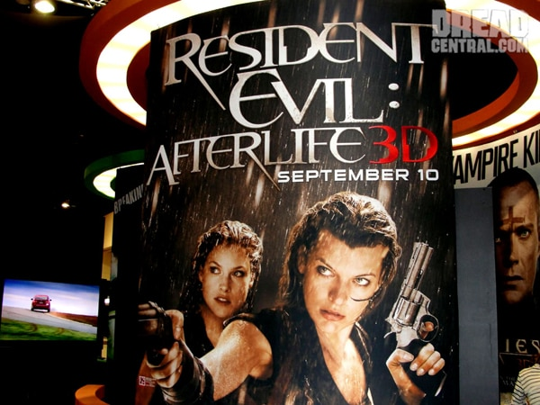 San Diego Comic-Con 2010: Artwork for Sony's Priest and Resident Evil (click for larger image)