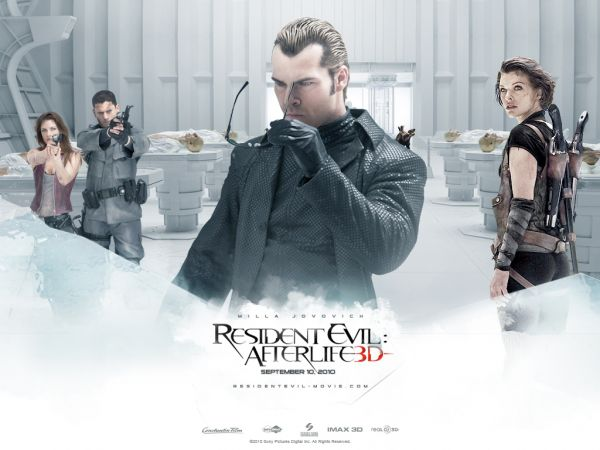 Resident Evil: Afterlife Website Updated with Sweet Wallpaper!