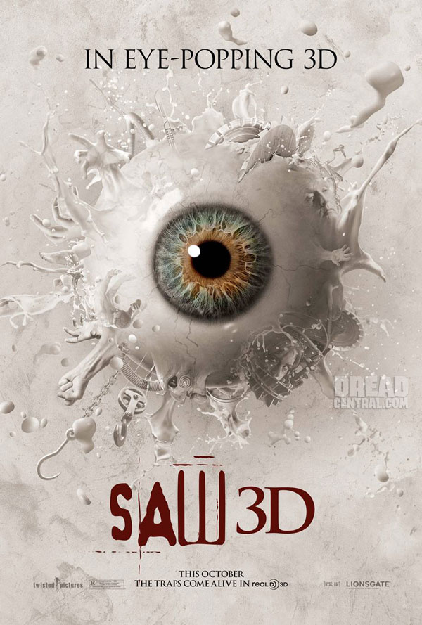 One-Sheet Debut - Saw 3D