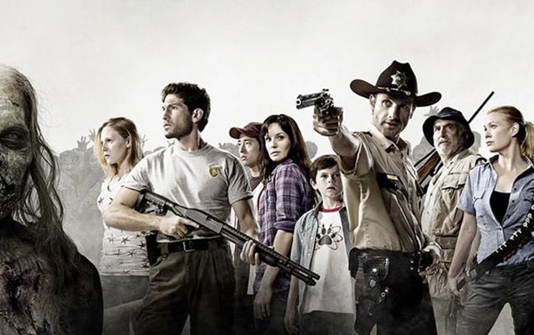 They Are ... The Walking Dead! First Cast Image! (click for larger image)