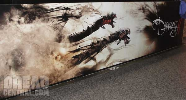 San Diego Comic-Con 2011: Early Art for The Darkness II (click for larger image)
