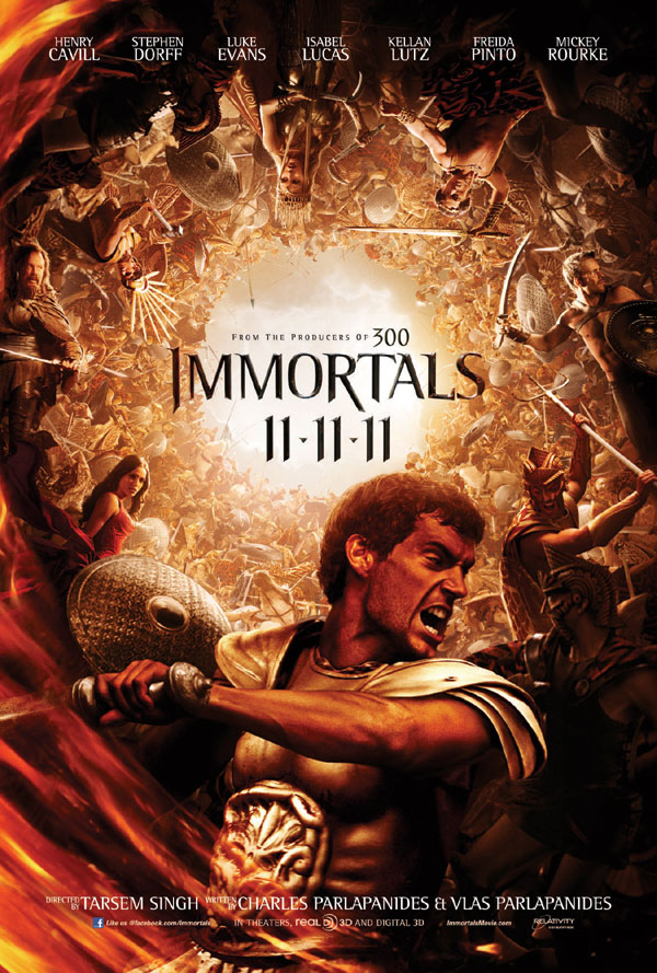 San Diego Comic-Con 2011: New Teaser Art for the Immortals