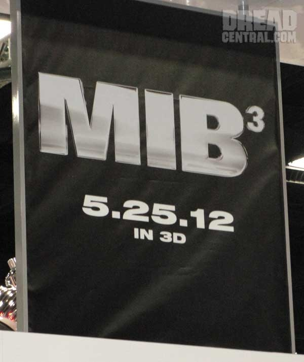 San Diego Comic-Con 2011: Men In Black 3 Comes on Strong! (click for larger image)