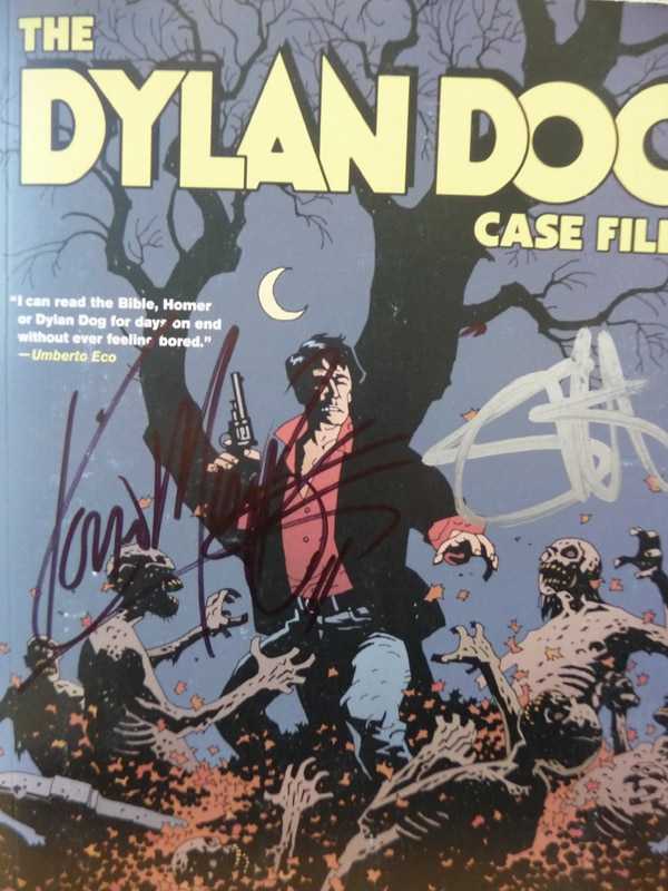 Win a Signed Copy of the Dylan Dog Comic!