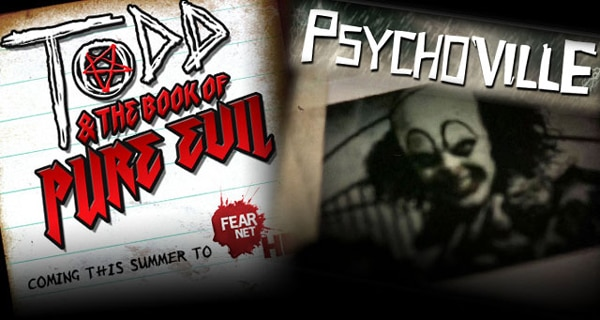 FEARnet's Twisted Comedies Psychoville and Todd & the Book of Pure Evil