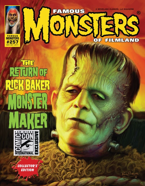 Famous Monsters Goes to Comic-Con, Goes Digital, and More!