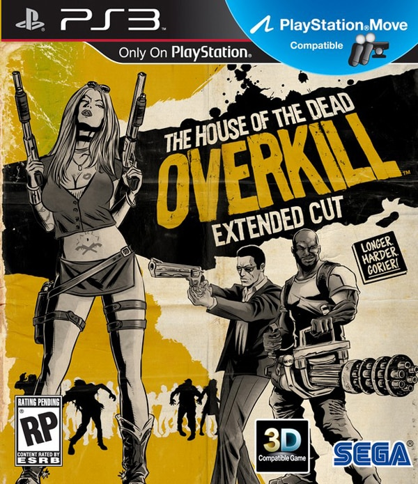 Get a Zombie Lap Dance in Latest House of the Dead: Overkill - Extended Cut Trailer