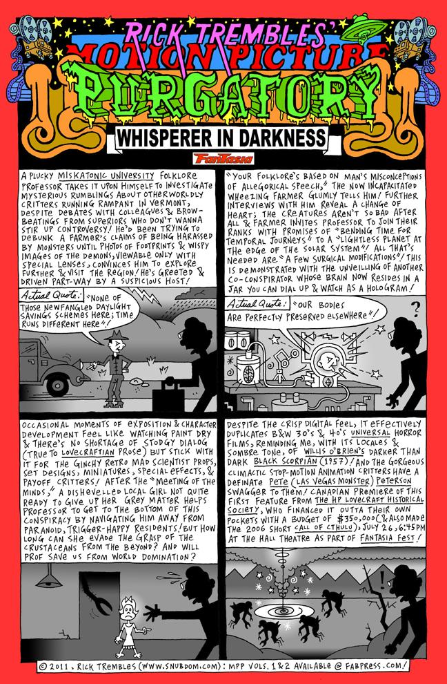Rick Trembles' The Whisperer in Darkness review