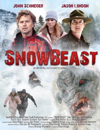 Snow Beast Stomps John Schneider on DVD This October