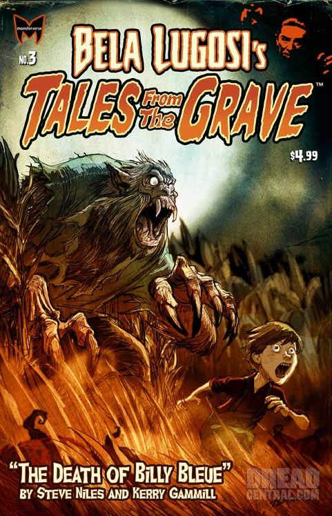 Exclusive First Look at the Bela Lugosi's Tales from the Grave Issue #3 Cover Art