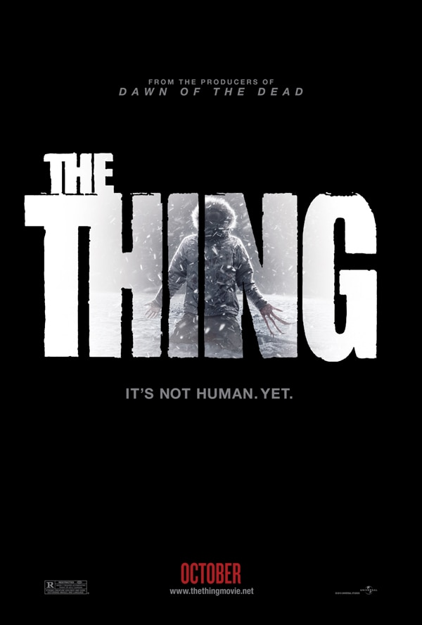 See the Trailer for The Thing ... RIGHT NOW!