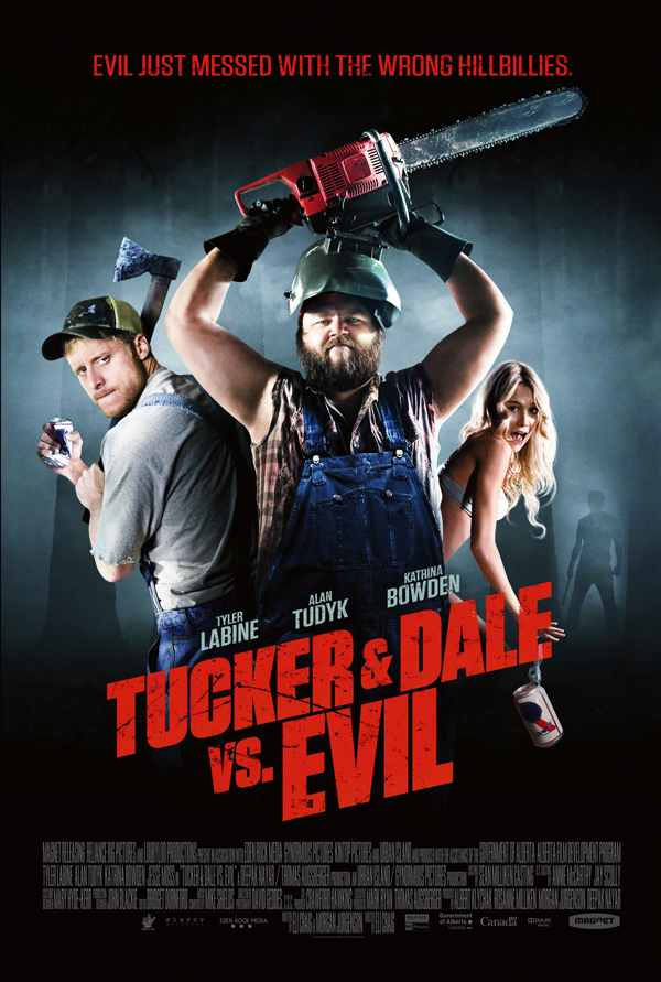 U.S. and Canadian One-Sheet Debut: Tucker and Dale vs. Evil
