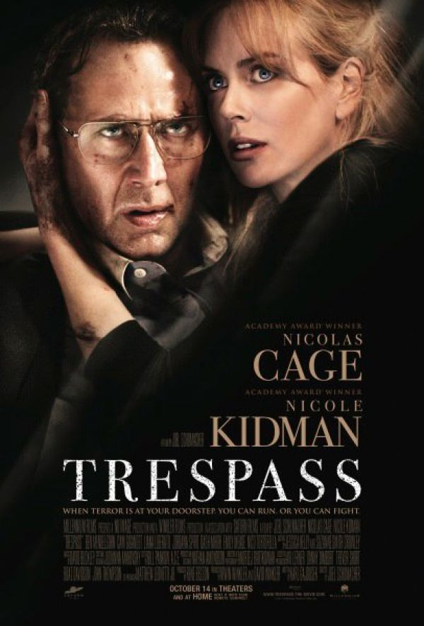 First Artwork for Nicolas Cage's Trespass