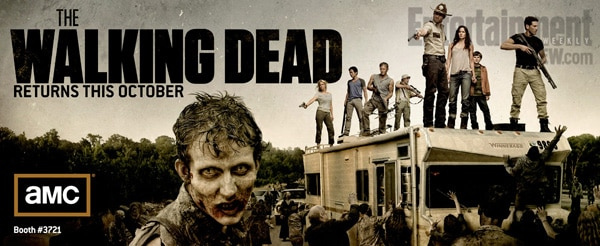San Diego Comic-Con 2011: First Look at The Walking Dead Season 2 Banner