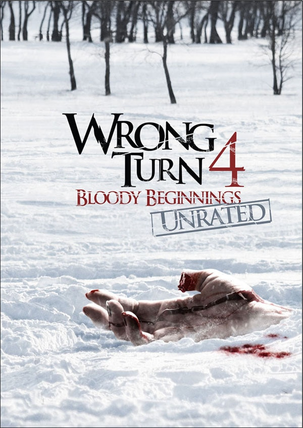 Cautious New Wrong Turn 4: Bloody Beginnings Imagery