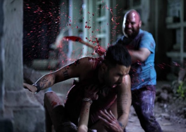 TIFF 2012: Blood Flies in Latest Image from Eli Roth's Aftershock