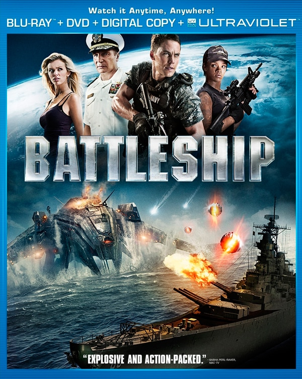 Battleship Blu-ray/DVD Details and a New Bonus Clip