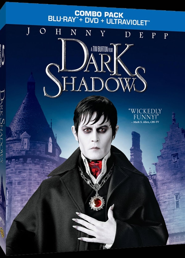 Official Blu-ray / DVD Details and Artwork: Dark Shadows