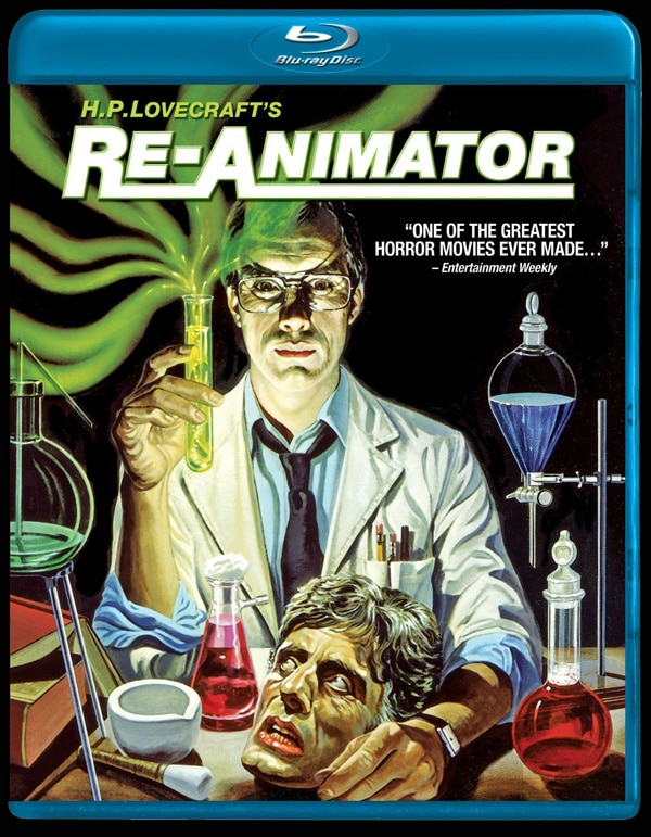 Herbert West Getting Re-Animated on Blu-ray