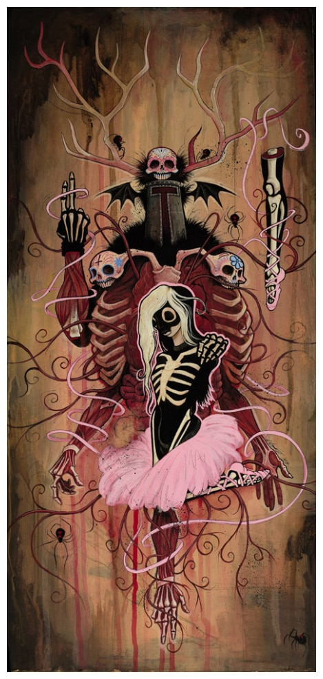 San Diego Comic-Con 2012: Get a Signed/Numbered Print of Gris Grimly's Broken Ballerina