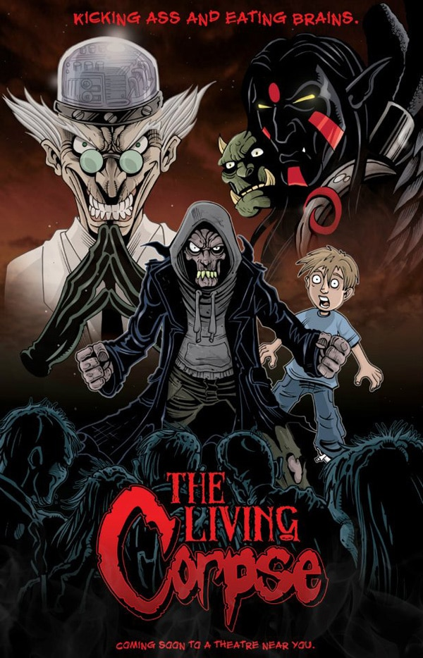 San Diego Comic-Con 2012: World Premiere of The Amazing Adventures of the Living Corpse