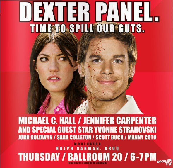 San Diego Comic-Con 2012: The Official Meme-Free Dexter Panel Poser