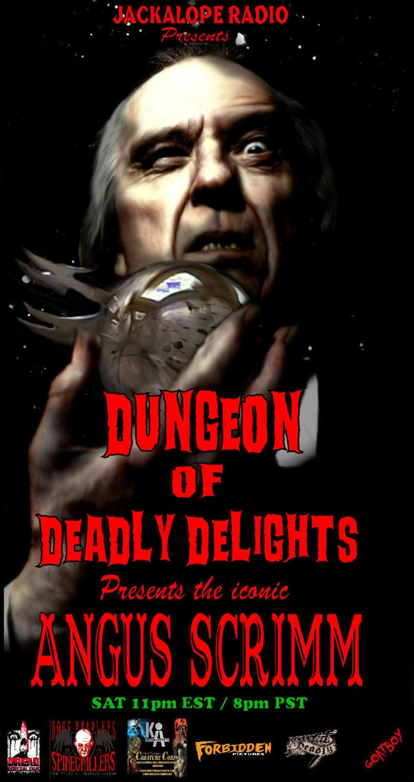 Angus Scrimm Enters The Dungeon of Deadly Delights
