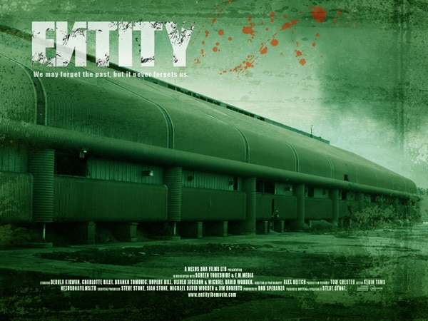 New Trailer, Stills, and Website for Steve Stone's Entity