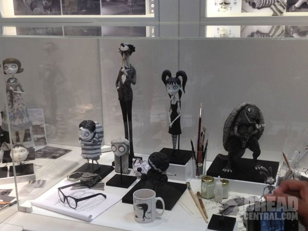 San Diego Comic-Con 2012: More from the Frankenweenie Art Exhibit!