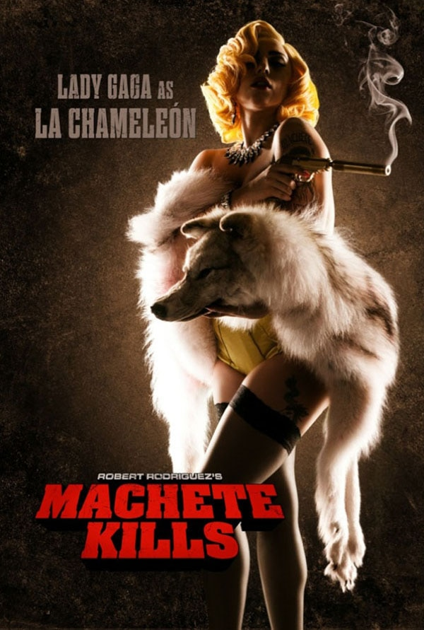 Lady Gaga Puts on Her Poker Face in Machete Kills