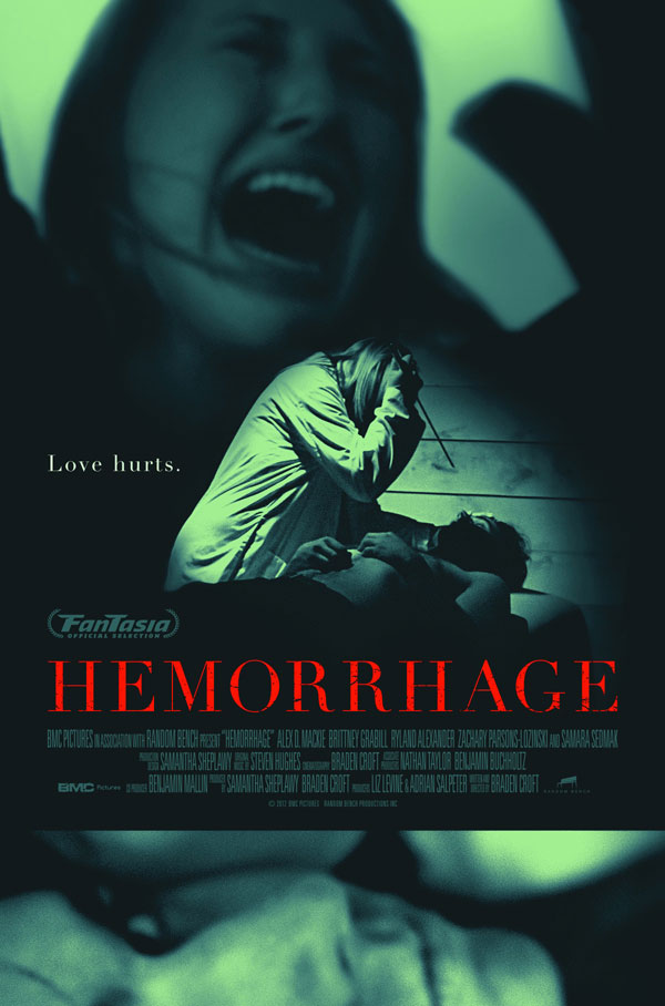 Fantasia 2012: First Teaser and Artwork for Hemorrhage