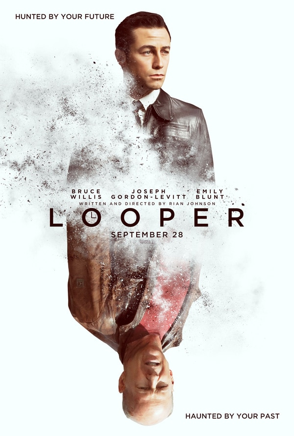 San Diego Comic-Con 2012: Looper Press Conference with Director Rian Johnson, Stars Joseph Gordon-Levitt and Emily Blunt