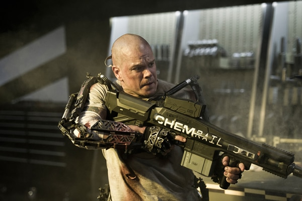 Better Look at New Elysium Still Featuring One Pissed Off Matt Damon
