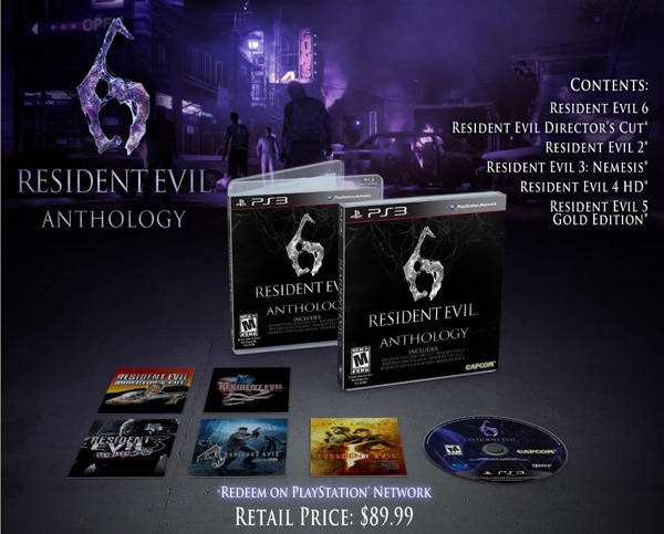 Resident Evil 6: Anthology Coming to PS3 Later This Year