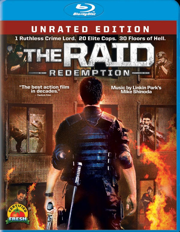 The Raid: Redemption Storms Home Video