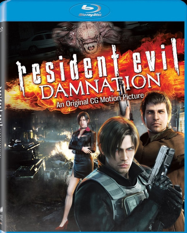 New Trailer and DVD / Blu-ray Specs: Resident Evil: Damnation