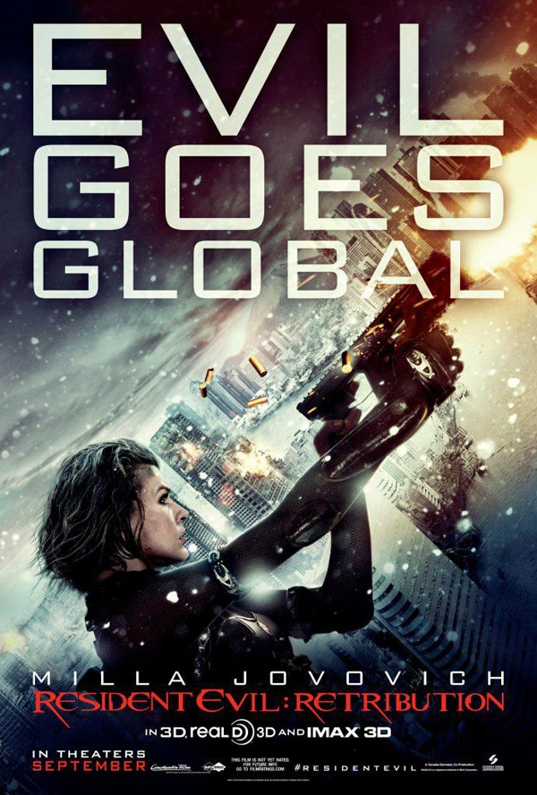 New Resident Evil: Retribution Still Offers a Long Look at Milla Jovovich as Alice