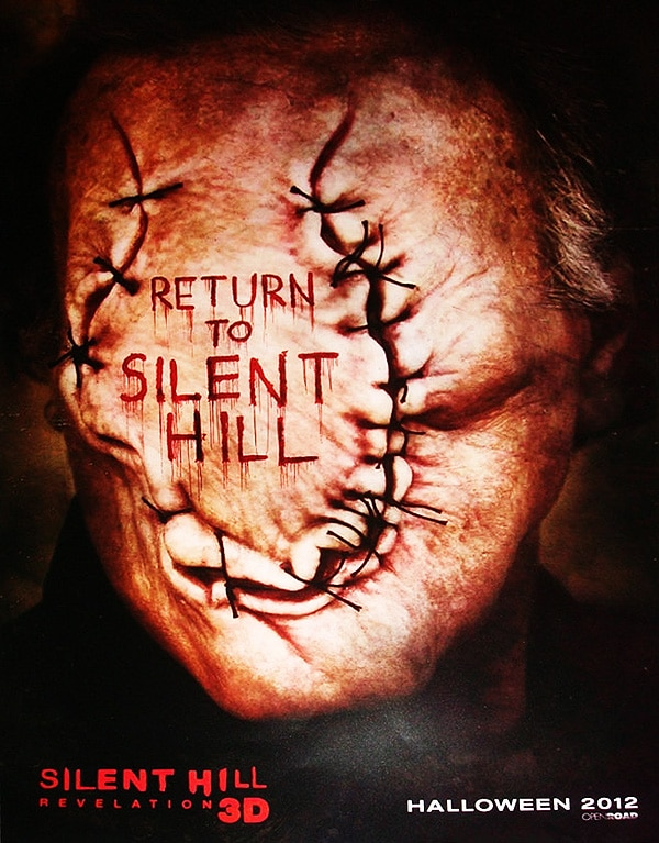 San Diego Comic-Con 2012: New Silent Hill: Revelation One-Sheet Will Keep You in Stitches!