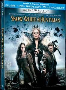 Full Specs and Artwork for Snow White and the Huntsman: Extended Edition Blu-ray/DVD Release