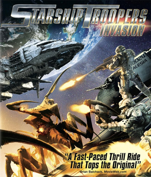 New Starship Troopers: Invasion Trailer Brings the Fight to the Bugs
